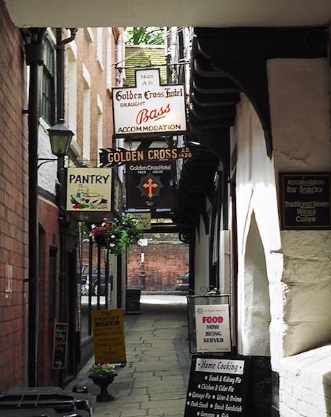 Most haunted town in England, Shrewsbury, Golden Cross