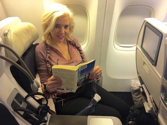 Air France romantic Paris premium economy