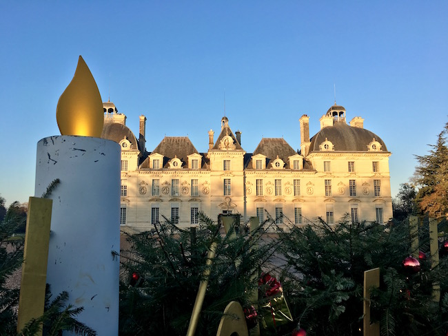 Chateau de Cheverny at Christmas