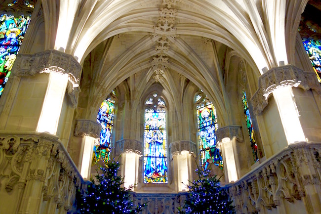 Loire Valley Christmas Leonardo da Vinci tomb at Chateau d'Amboise