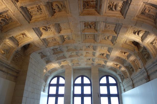 Salamander ceiling Chateau de Chambord
