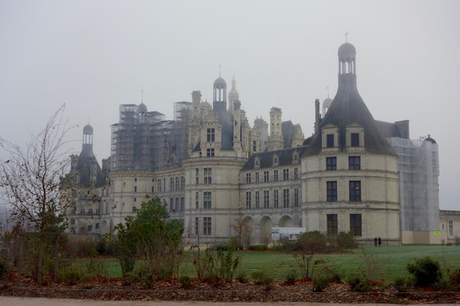 Visiting Chateau de Chambord in the Loire Valley, France