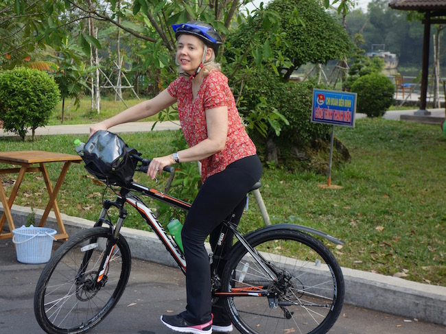 Day trips from Saigon, cycling and Cu Chi Tunnels