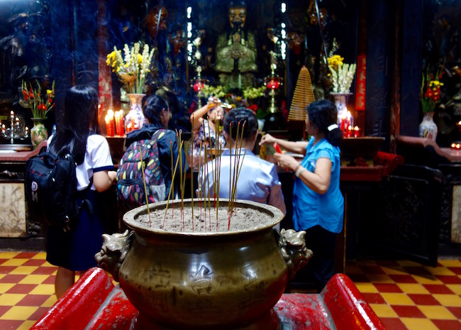 Jade Emperor, shrine in Saigon