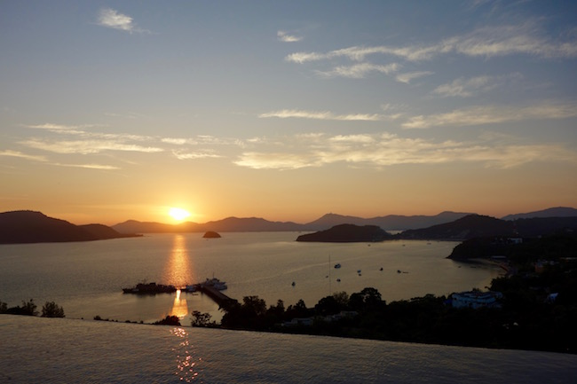 Baba Nest sunset view