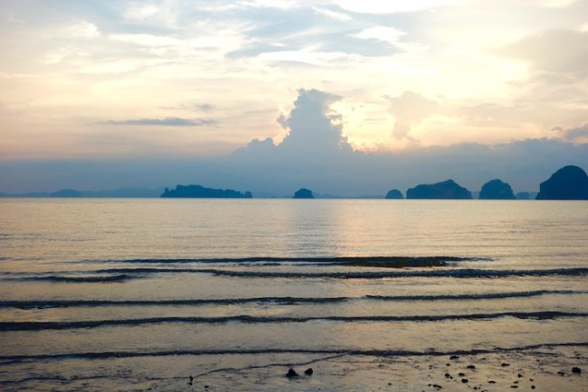View of Hong Islands from Tubkaak Beach