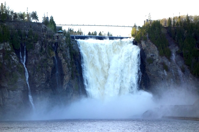 Montmorency Falls, excursions from Quebec City