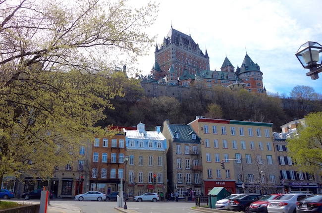 Things to do in Quebec City nice view of Frontenac