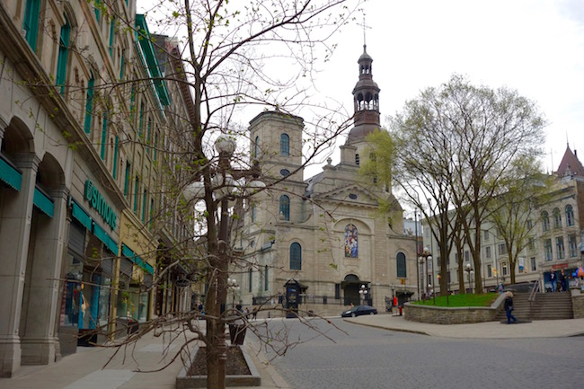 Things to do in Quebec City, visit Notre Dame Cathedral