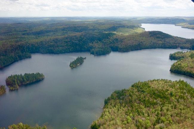 Beautiful Quebec lakes