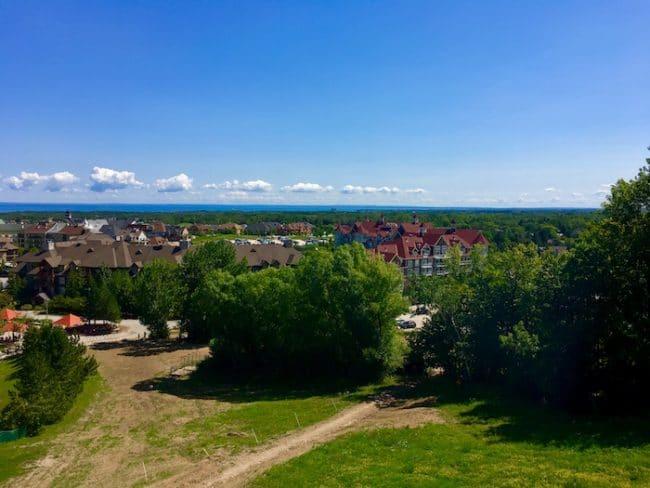 View from Blue Mountain Niagara Escarpment