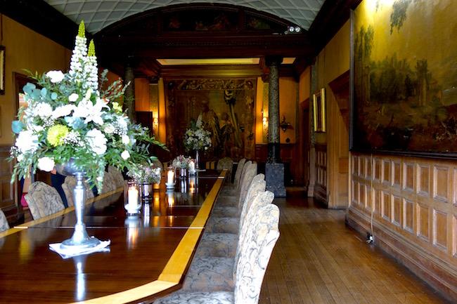 Castle Leslie Monaghan Ireland Dining Room