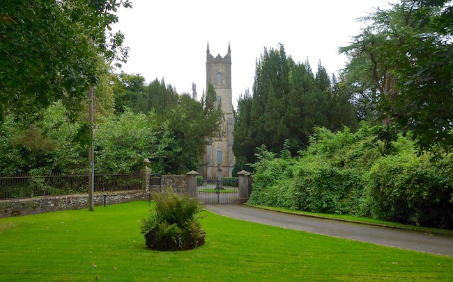 Church where Paul McCartney got married Castle Leslie