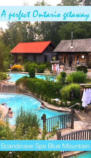 Scandinave Spa Blue Mountain is one of the top spas in Ontario, Canada. This nordic-style day spa is a relaxing outdoor spa that is open all year round.