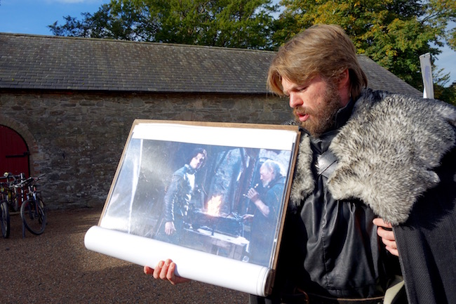 Game of Thrones Winterfell tour