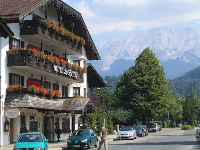Hotel Zugspitze German spas