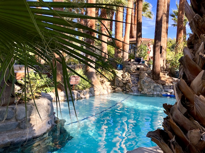 Palm Springs spa resorts Two Bunch Palms