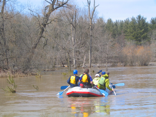 Rafting Nith River Paris Ontario