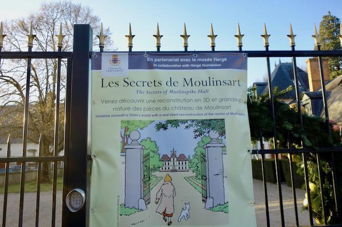 Chateau de Cheverny Tintin
