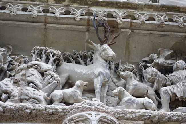 Detail of Chateau Chambord, Loire Valley castles