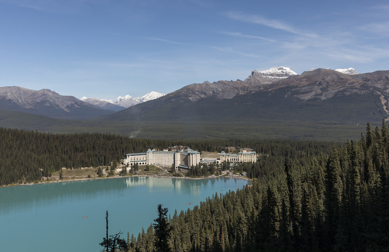 Rocky Mountaineer packages Lake Louise