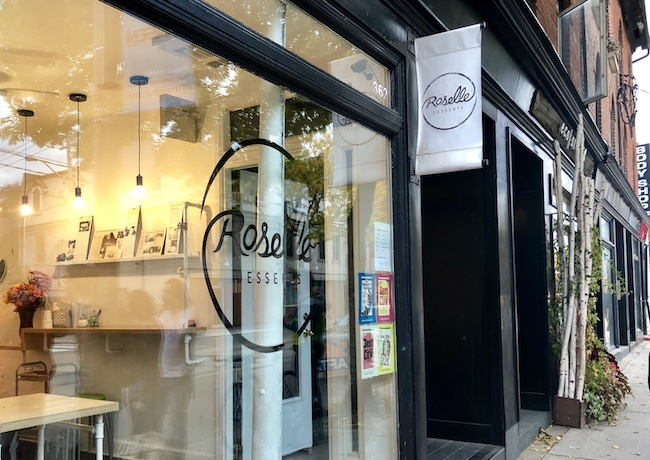 East Toronto pastry shop Roselle