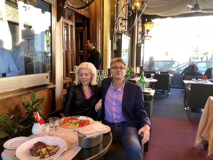 Fun things to do in Rome, eat at Harry's Bar