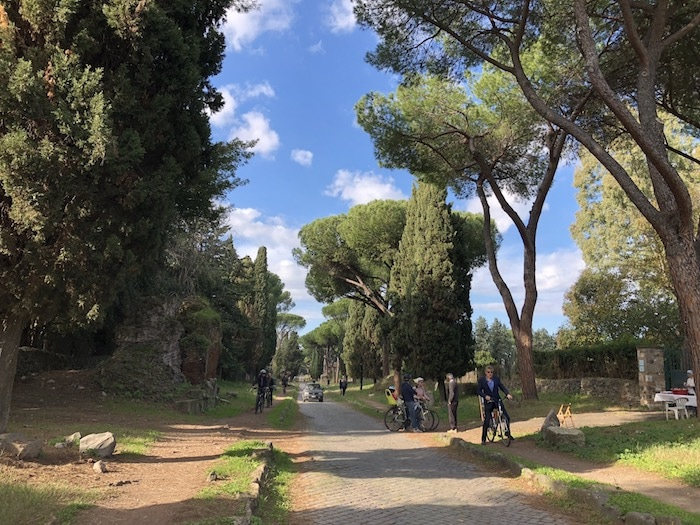 Unusual things to do in Rome, cycle Appian Way