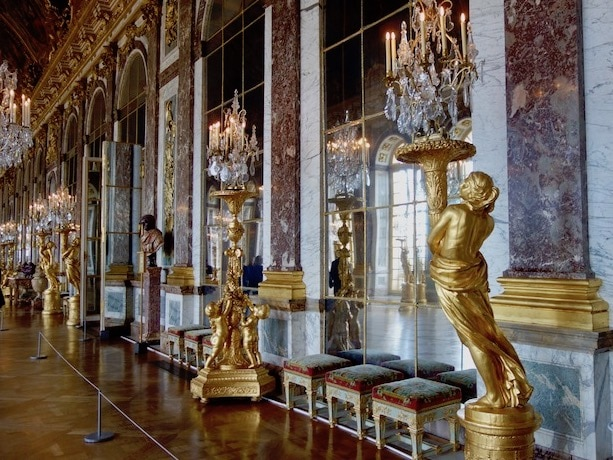 Top things to do in Paris, take a day trip to Versailles Hall of Mirrors