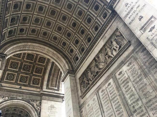 What to do in Paris, climb the Arc de Triomphe
