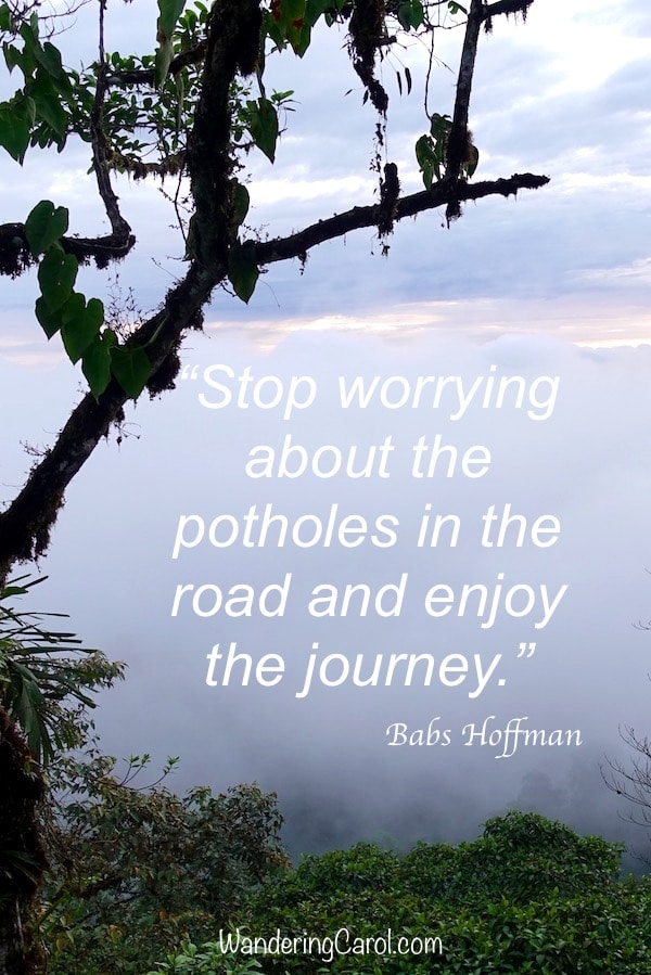 Inspirational quotes about travelling can be inspirational and entertaining, but sometimes wrong.