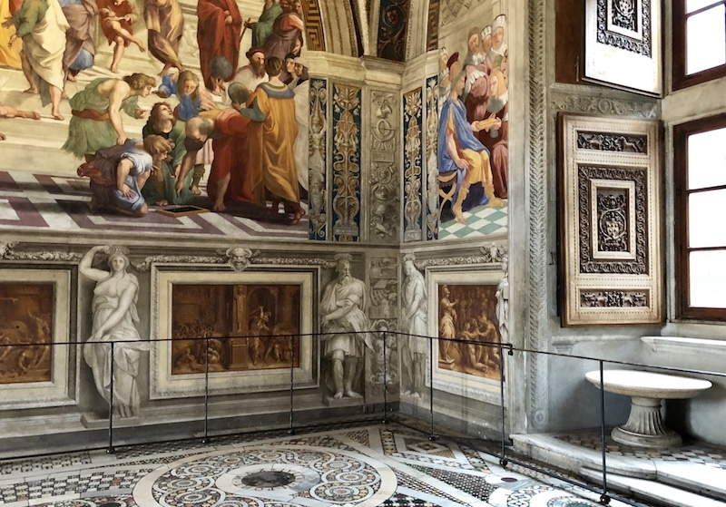 Raphael Rooms at the Vatican