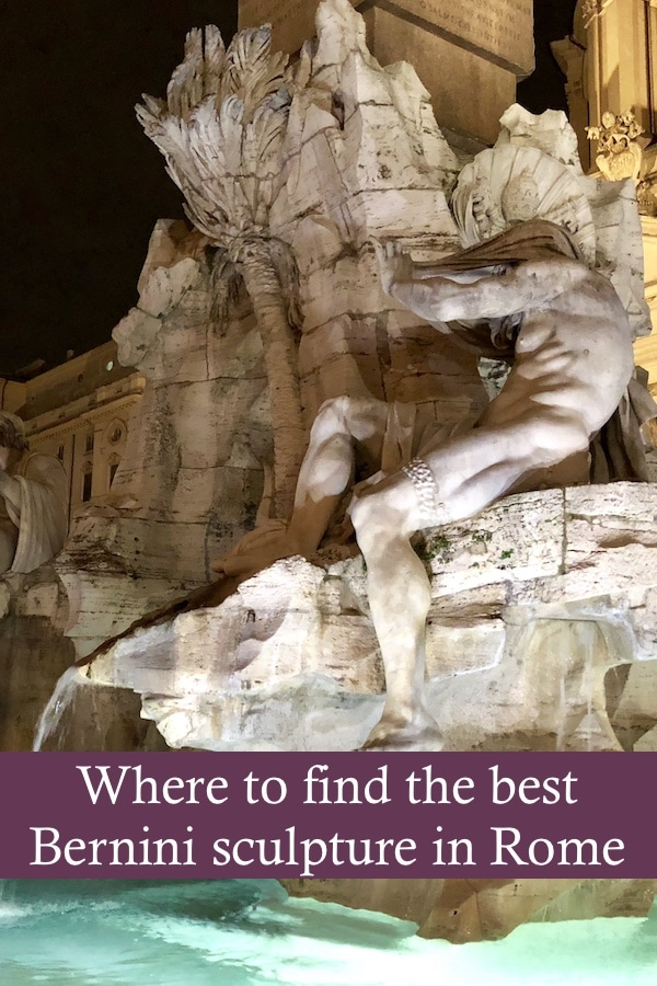 If you're looking for Rome attractions, check out the Bernini sculpture in the Piazza Navona, along with many other of this famous Italian artist's attractions. You'll find his work in the Borghese Gallery, including his famous Apollo and Daphne, the Colonnade in the Vatican and more.