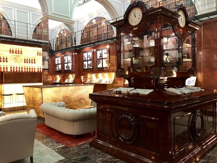 Hotel Majestic Rome lounge