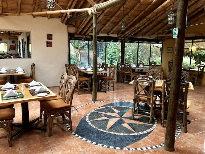 Hotel Termas Papallacta dining room