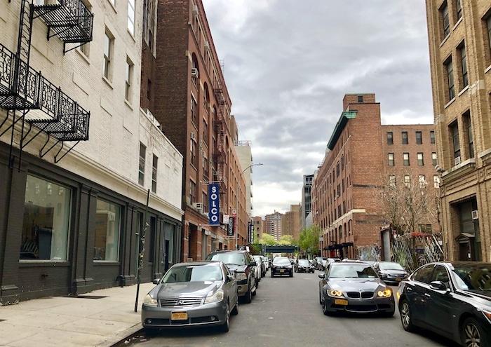 Chelsea NYC, street scene