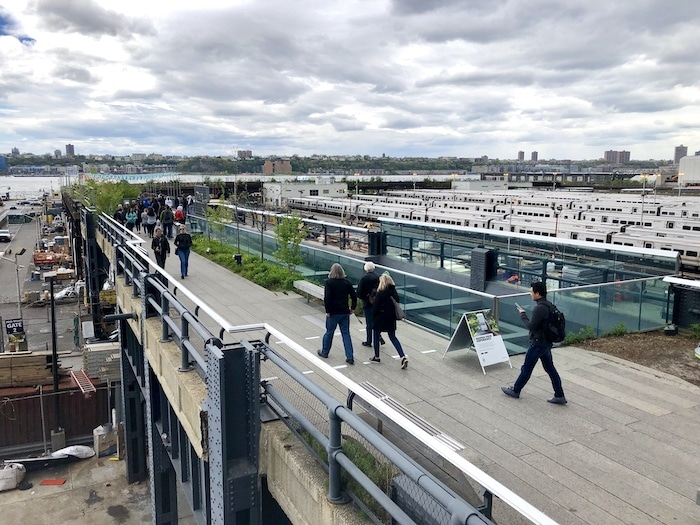 What to do in Chelsea NYC, walk The High Line near Hudson Yards
