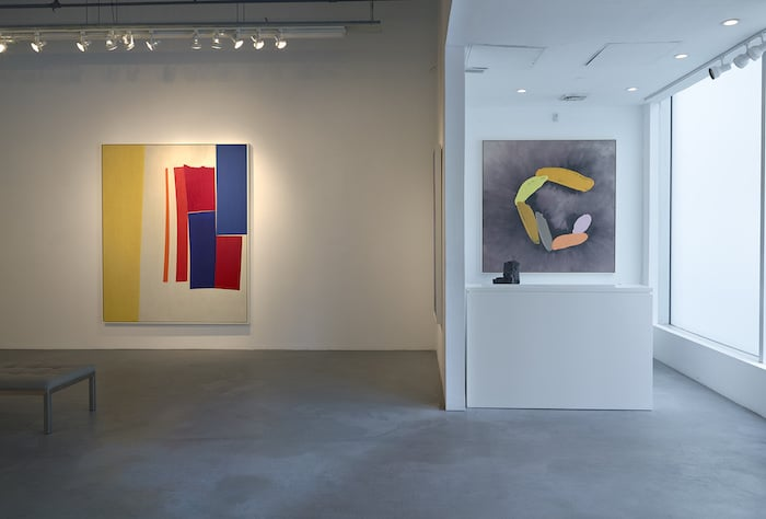 William Perehudoff paintings at Berry Campbell Gallery in Chelsea NYC