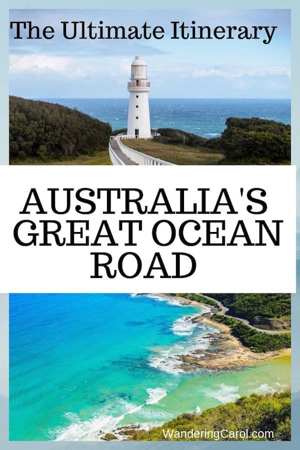 In Australia the Great Ocean is one of the most famous scenic drives. This coastal route offers spectacular views and iconic attractions such as the 12 Apostles rock formation. If you\'re planning a trip to Australia here\'s an ideal Great Ocean Road itinerary.  #Australia #TheGreatOceanRoad #GreatOceanRoad #ScenicDrive #RoadTrip #Attractions #CoastalDrive #Coast