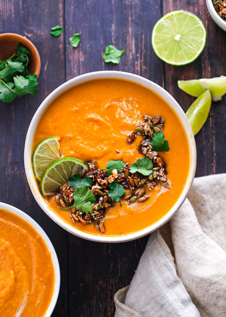 miso sweet potato carrot soup