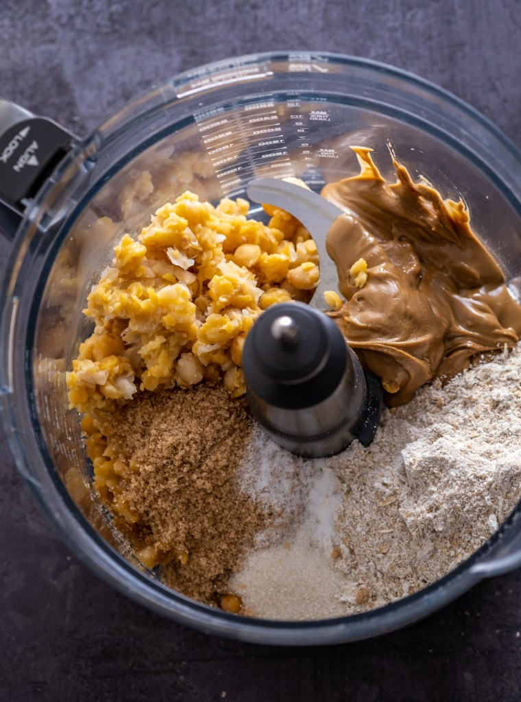 how to make chickpea cookie dough