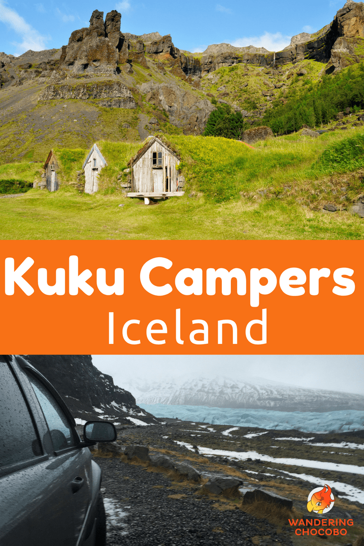 Review of Kuku Camper campervan rental in Iceland. Plan your exciting road trip in Iceland with this honest review.