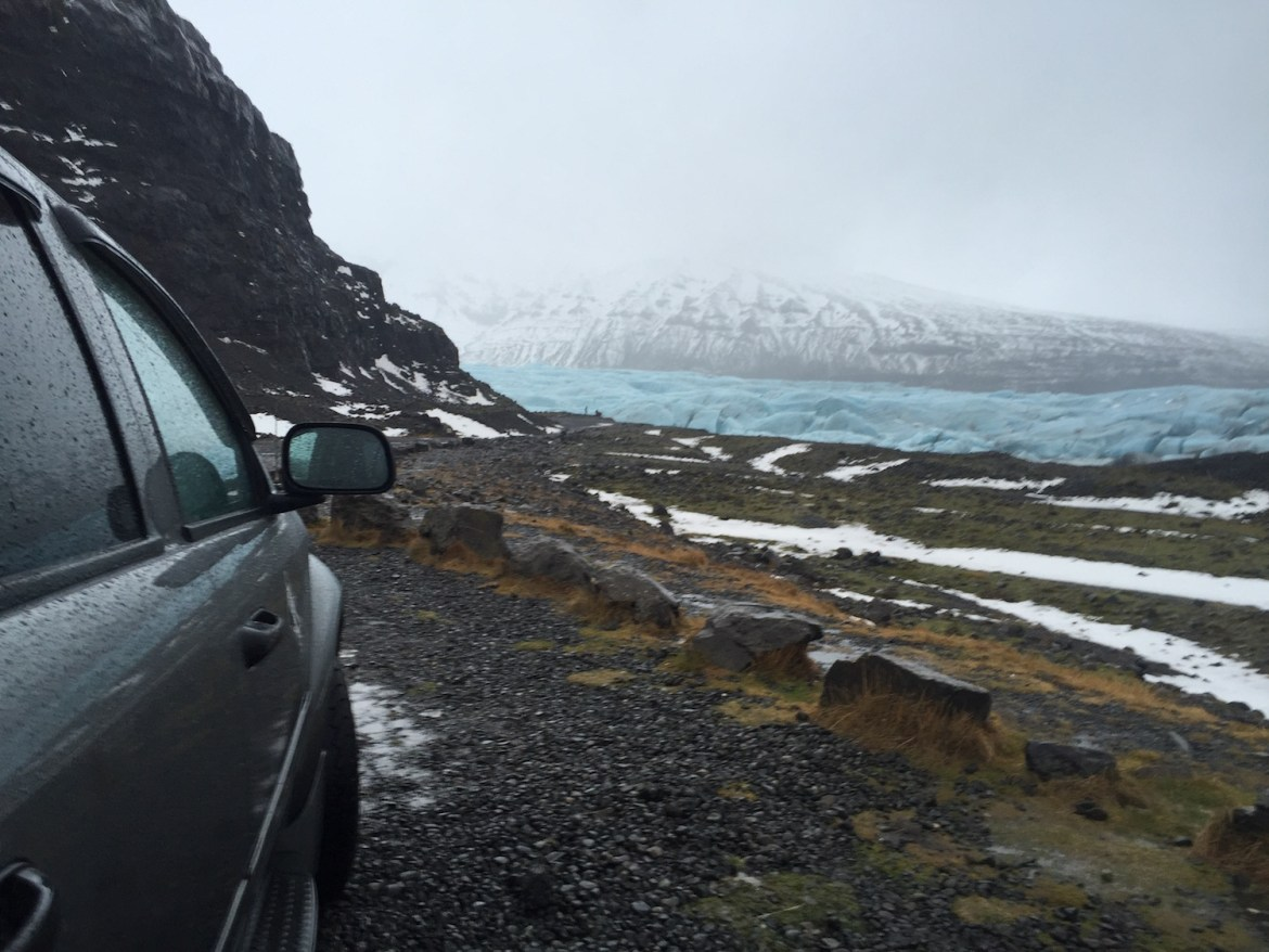Driving Renting a Car in Iceland
