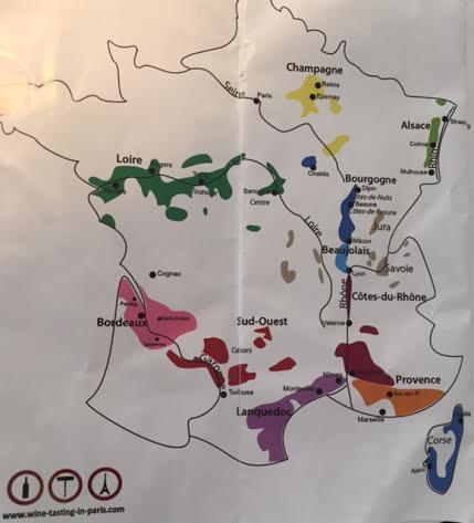 wine regionmap