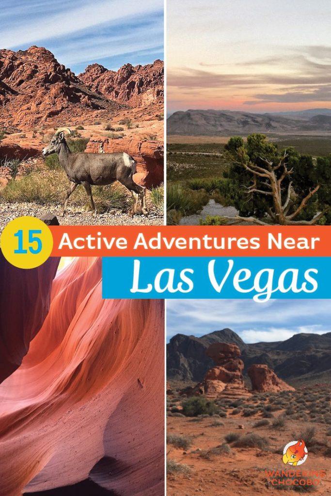 15 active outdoor activities in Las Vegas
