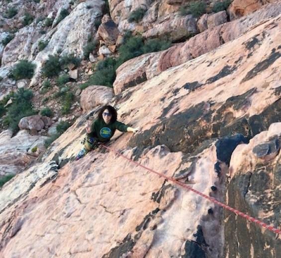 Outdoor Activities in Las Vegas Rock Climbing
