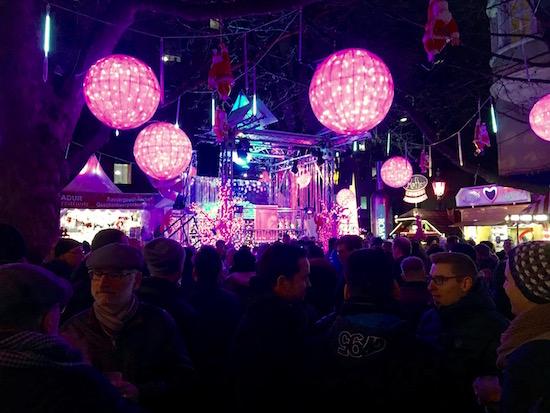 Munich Christmas Market Pink