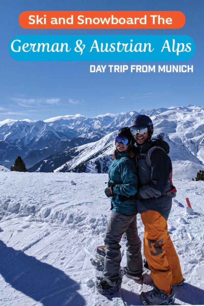 Ski and Snowboard the German and Austrian Alps