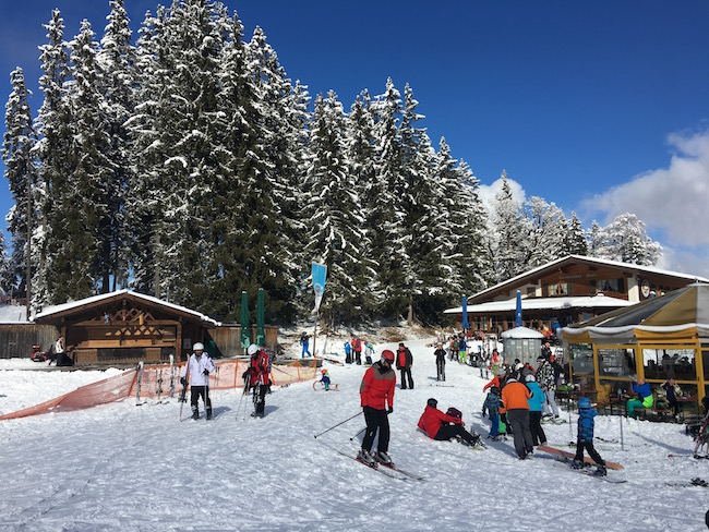 Day trip from Munich to Ski and Snowboard at Garmisch the German Alps
