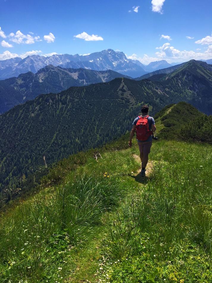 Hiking in Bavaria Alps Wandering Chocobo